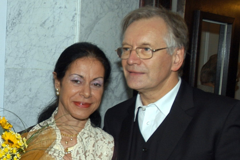 Mireille Maalouf i Andrzej Seweryn