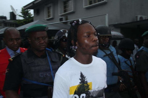 Naira Marley has an ongoing court case from the EFCC [Twitter/@officialEFCC]