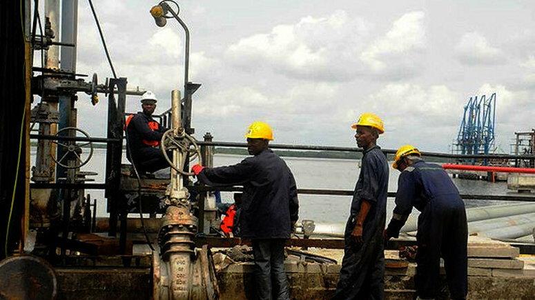 Bonny Light crude and Amenam, two of Nigeria's main sources