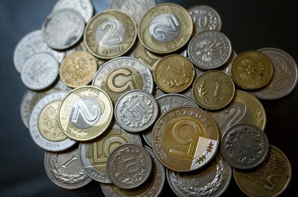 Polski złoty - monety o różnych nominałach
