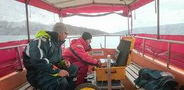 Akcja ratunkowa na Jeziorze Solińskim. Szukają turysty