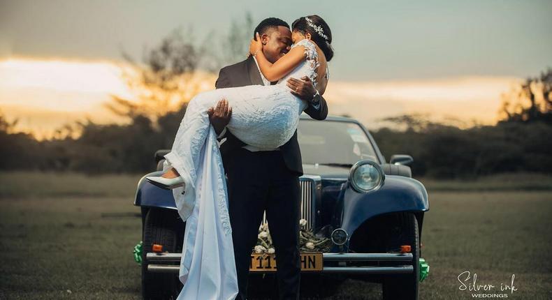 Gospel Singer Joel Lwaga weds longtime Girlfriend in colorful ceremony