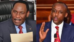 Mutula Kilonzo Jnr and Ezekiel Mutua