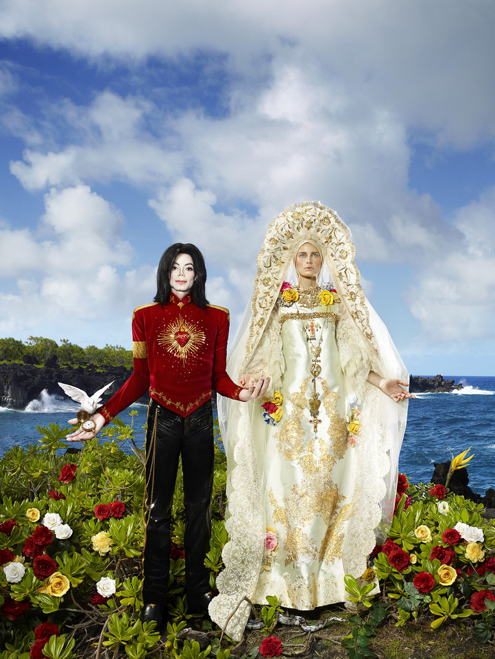 "David LaChapelle, ""The Beatification: I'll never let you part for you'realways in my heart"" (2009)"