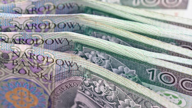 Polskie pieniądze - stuzłotówki