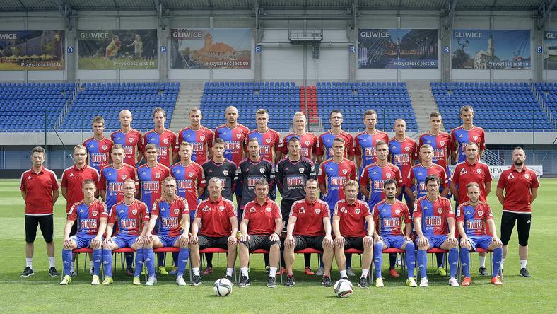 Piast Gliwice - drużyna