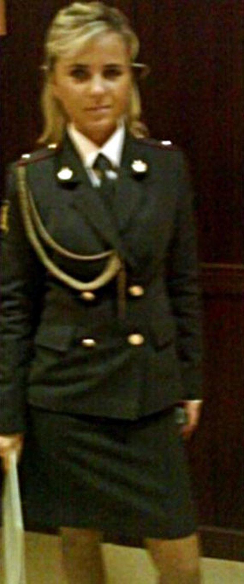 Policjantka Swietłana z Rosji