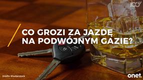 Co grozi za jazdę po alkoholu?