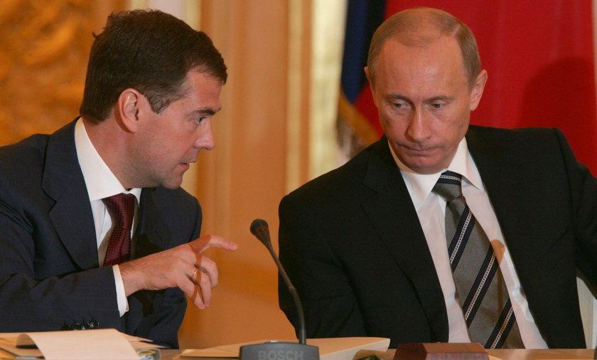 Rosyjski rząd podał się do dymisji!