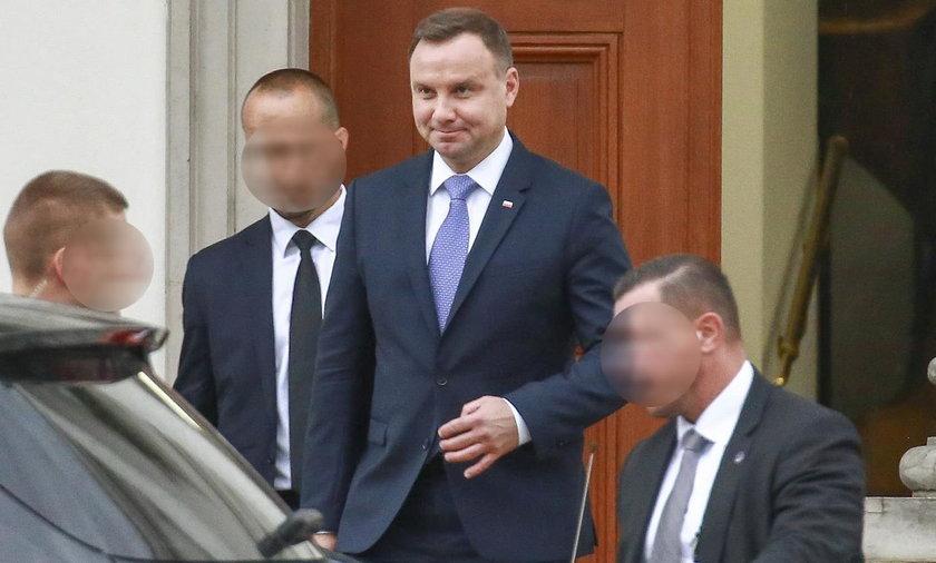 Kulisy spotkania Dudy z Kaczyńskim