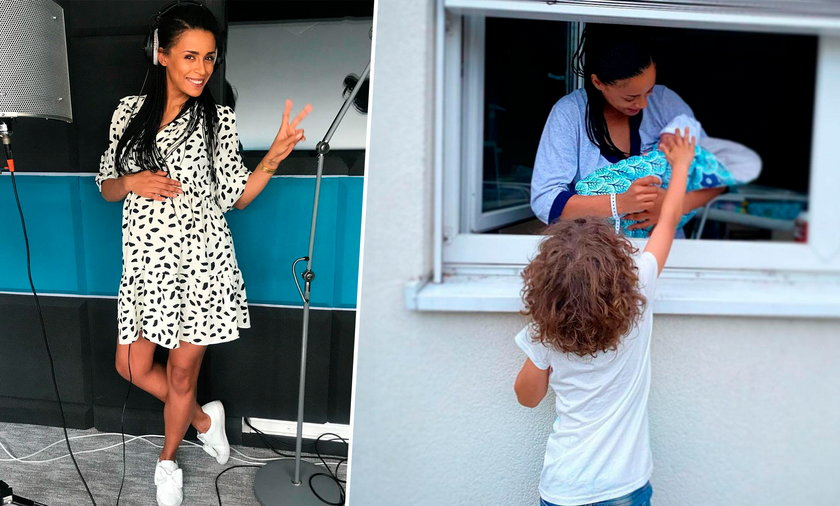 Aleksandra Szwed niedawno urodziła. Pokazała jak wyglądało pierwsze spotkanie jej dzieci w szpitalu.