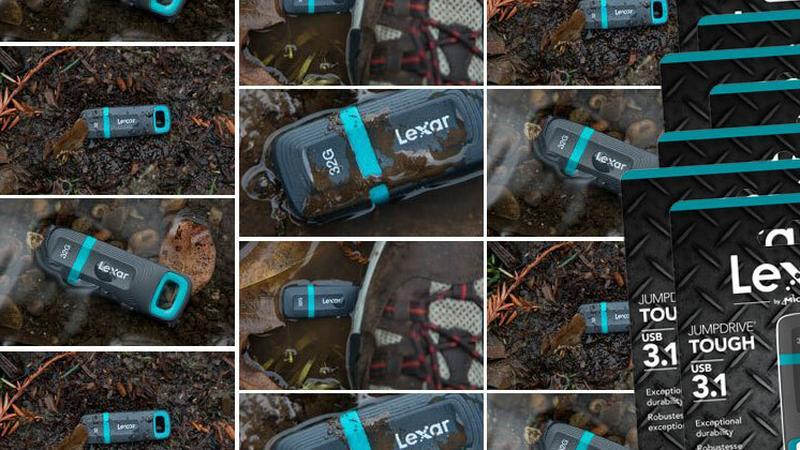 Lexar JumpDrive Tough - wytrzymały pendrive