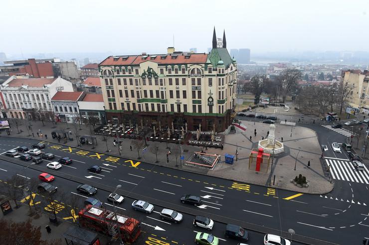 Terazije, hotel Moskva