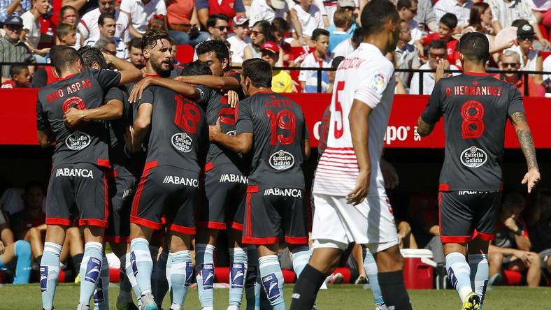 Radość piłkarzy Celty Vigo