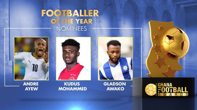 2021 Ghana Football Awards nominees announced; see full nominees list