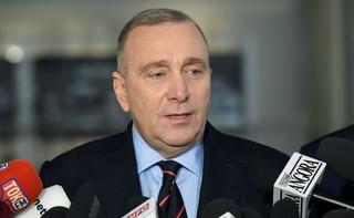 Schetyna: Macierewicz nie może mieć przyszłości w żadnym polskim rządzie