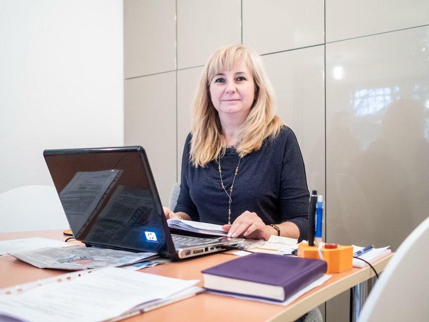Iwona Kalenik z Łodzi