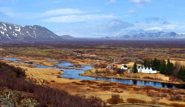 Nádherná islandská krajina.