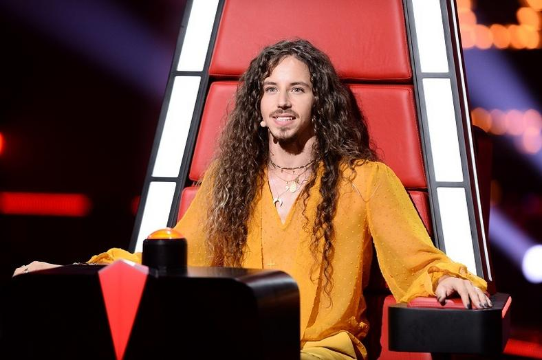 "Michał Szpak w programie ""The Voice of Poland"""