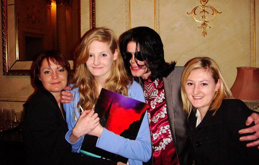 Michael Jackson i Harriett Lester