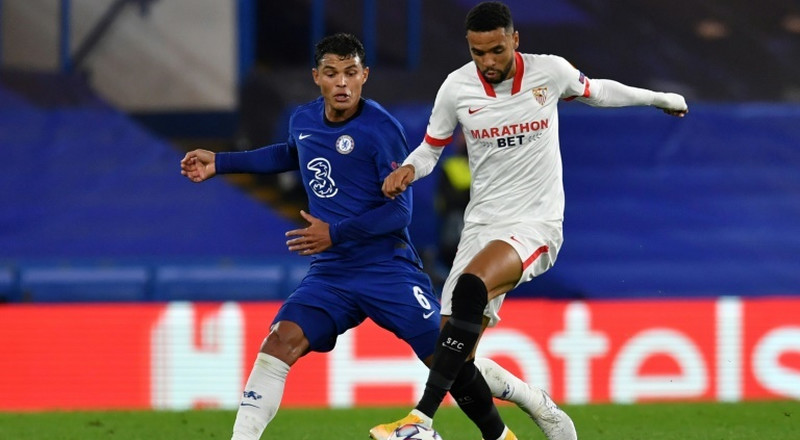 Chelsea kept quiet by Sevilla in goalless stalemate