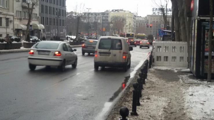 Ledena kiša u Beogradu