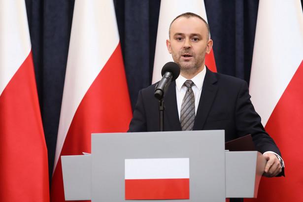 Zastępca szefa kancelarii prezydenta Paweł Mucha