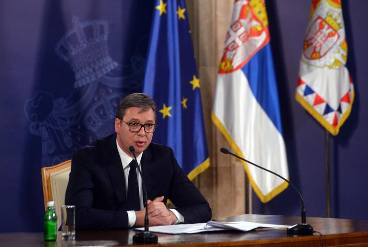 Aleksandar Vučić, KZN