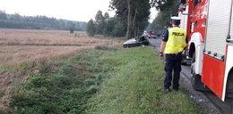 Kierowca szaleniec zabił kobietę i siebie