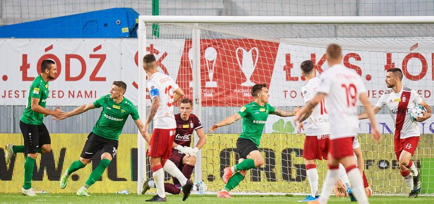 Górnik Łęczna pokonał ŁKS Łódźi zagra w Ekstraklasie!