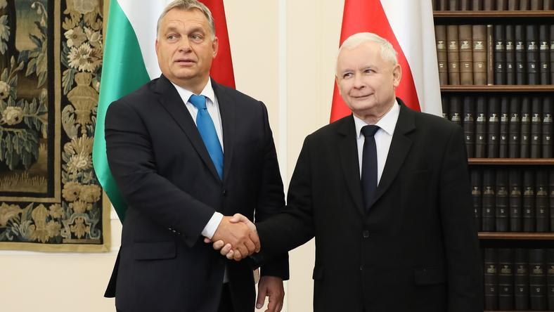 Victor Orban i Jarosław Kaczyński