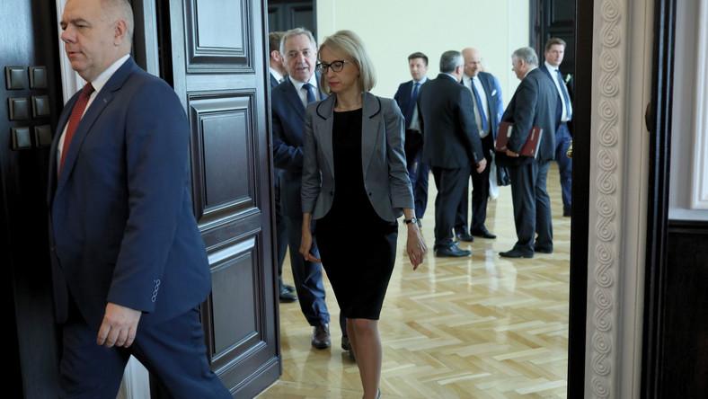 Jacek Sasin, Henryk Kowalczyk i Teresa Czerwińska