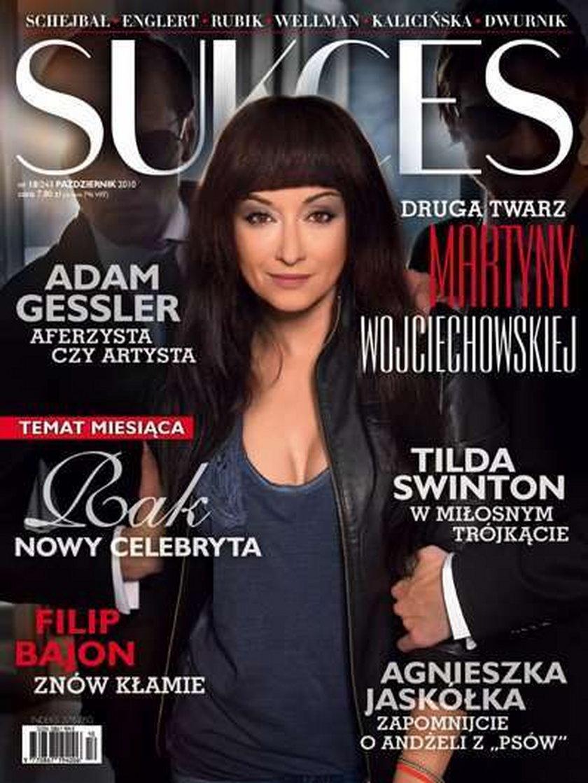 Wojciechowska na okładce sukcesu