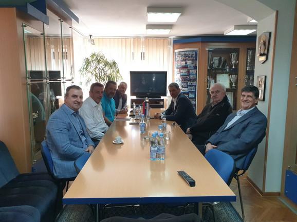 Delegacije Olimpijskog komiteta Srbije u poseti Vaterpolo savezu naše zemlje