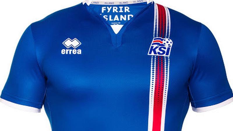 Strój reprezentacji Islandii