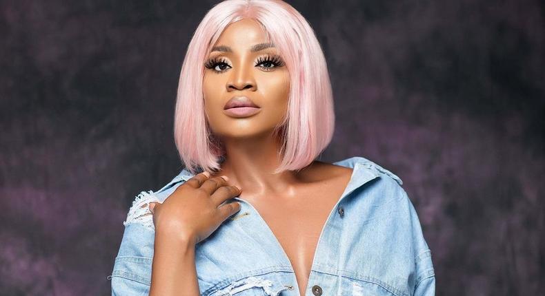 Nollywood movie star Uche Ogbodo [Instagram/UcheOgbodo]
