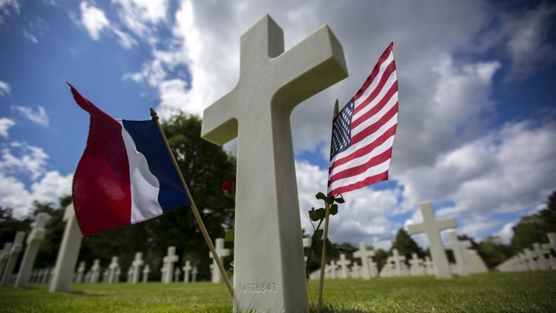 Cmentarz w Normandii