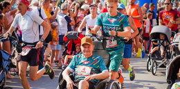 Dziadek z wnukiem chcą pokonać maraton