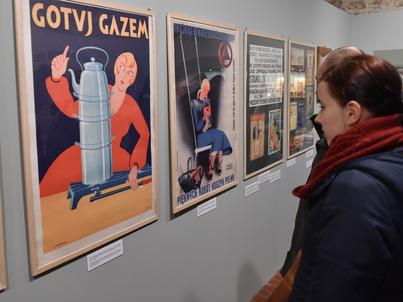 Przedwojenne reklamy można oglądać na wystawie w Muzeum Historycznym Krakowa