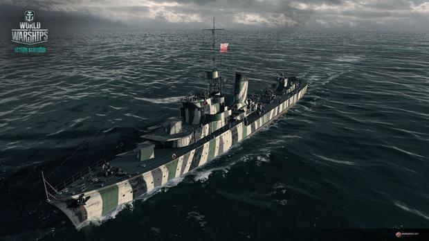 World of Warships - ORP Błyskawica