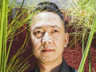 Viet Thanh Nguyen, the author of The Sympathizer, at his home in Los Angeles.