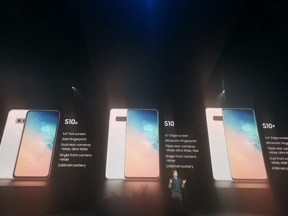 Galaxy S10, S10 Plus i Galaxy Se