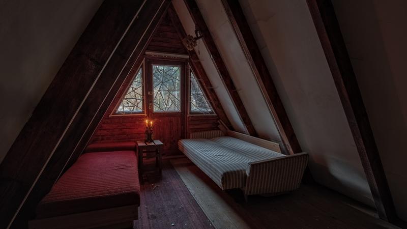 Opuszczony ośrodek wypoczynkowy koło Spały
