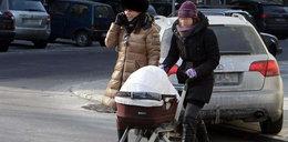 Anna Mucha ma panią do prowadzenia wózka? FOTY