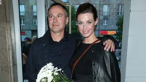 Julia Kamińska z partnerem i wiele innych gwiazd na premierze w teatrze