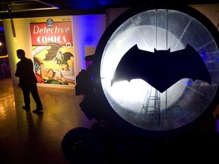 Batman 80th Anniversary at the Comic Con Museum in San Diego