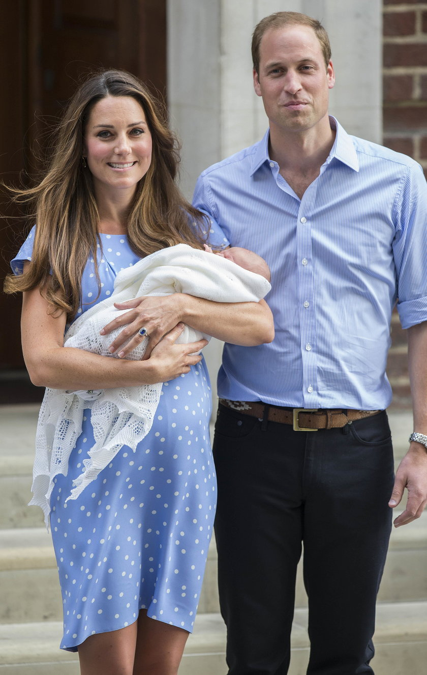 William And Kate Name Baby Prince George