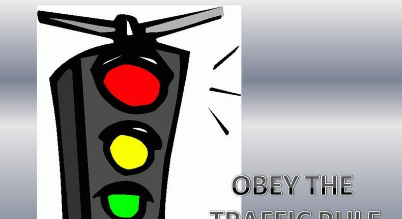 Obey all traffic rules