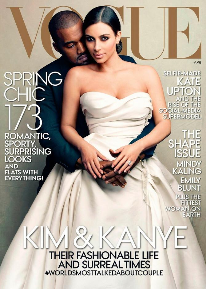 Sveže venčani: Kim Kardašijan Vest i Kanje Vest