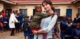 Dominika Kulczyk pomaga dzieciom w Rwandzie